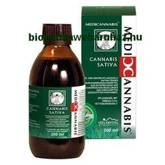 Cannabis Sativa Cannabionid Oil 200ml - Medicannabis olaj (200ml) Sauce Bottle, Cannabis, Oil, Ganja, Butter