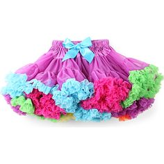 ANGELS FACE African-Can tutu 3-12 years (Purple/multi