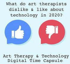 Digital Time Capsule: What Do Art Therapists Dislike & Like About Technology in Art Therapy Directives, Feeling Lost, Social Media Site, Time Capsule, Augmented Reality, Digital Media, New Technology, Social Networks, Physics