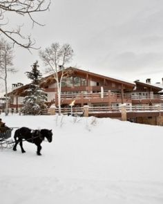 Another favorite - partly because it is right here in Utah - love love love! Stein Eriksen Lodge - Park City, Utah #JSTakeMeThere #Jetsetter