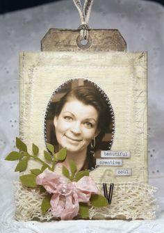 Anne's paper fun: Happy Birthday card
