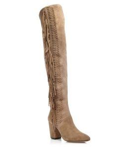 9d122029b3d7 Rebecca Minkoff Inez Fringe High Shaft Boots - 100% Bloomingdale s Exclusive
