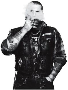 Andrew Shaylor photos, England Hells Angels