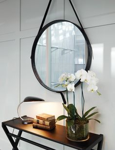 Gubi Adnet Mirror Inspiration http://www.surrounding.com.au/adnet-circulaire-mirror-l/ Source: australiandesignreview.com