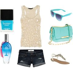 Summer Time, created by kymartin33 on Polyvore