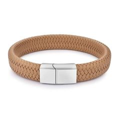 Victory and valor are yours. You've earned yourself the highest honors. Proclaim your masculine ways with a khaki leather bracelet built for men who mean business. Made out of genuine leather and finished with a magnetic clasp, this braided bracelet dishes out trustworthiness, durability and a high level of convenience.  FREE Shipping Worldwide.