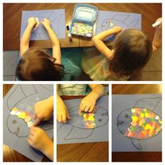 Sharing with little ones:  Tips, book suggestions, and a Rainbow Fish activity. Mommy.Nanny.Guru.