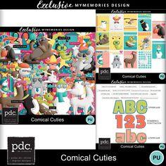 Comical Cuties - Kit