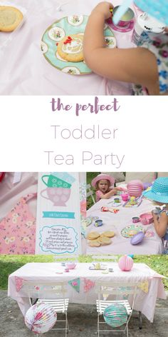 How to throw the perfect adorable toddler tea party for little girls and boys! Seriously dying from how cute it is. And no need for a special occasion - just a fun get together for toddlers and their parents! And the invitations partnered with Basic Invite for really pull it together!