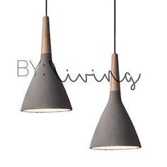 Modern-Contemporary-Minimal-Wood-Timber-Concrete-cement-pendant-light