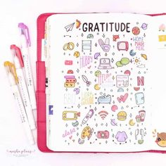 Gratitude log is an amazing tool to develop a positive mindset and add more happiness to your life. In this post, we will talk about all the reasons why you should use a gratitude log. Plus get inspired by 35  Bullet Journal gratitude log spreads. #mashaplans #bulletjournal #gratitude log #bujospread #bujo #bulletjournaljunkies January Bullet Journal, Bullet Journal Junkies, Bullet Journal Themes, Bullet Journal Spread, Bullet Journal Inspiration Creative, Different Lettering, Planner Doodles, Creative Calendar, How To Improve Relationship
