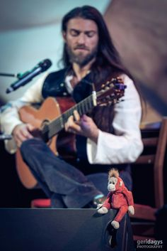 2016 Estas Tonne concert in Kiev, Ukraine. Photo by Geri Dagys. #estastonne #concert #guitar #music #gypsy #flamenco #latin #kiev #goa #meditation #art #inspiration #atmospheric