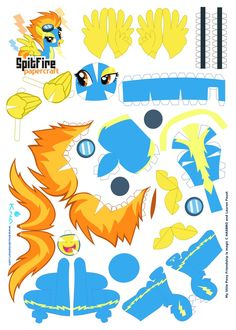Spitfire Papercraft by Kna.deviantart.com on @DeviantArt