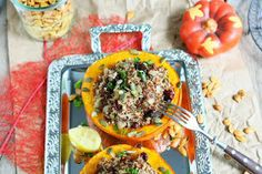 Angie's Recipes . Taste Of Home: Quinoa Filled Hokkaido