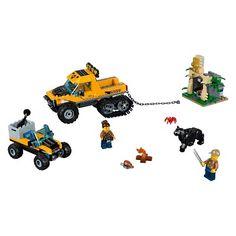 0dd13265d62f Lego City Jungle Explorers Jungle Halftrack Mission 60159