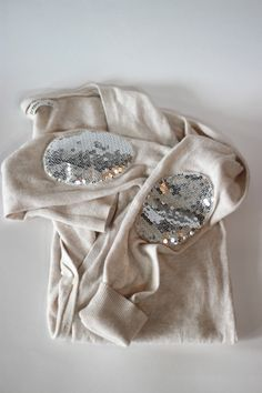 sequin elbow patch tutorial // see kate sew