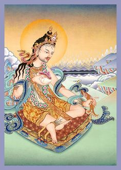 Tilopa  Tilopawas atantric practitionerandmahasiddha. He developed themahamudramethod, a set of spiritual practices that greatly accelerates the process of attainingbodhi(enlightenment). He is regarded as the human founder of theKagyulineage ofTibetan Buddhism.(from Wikipedia)
