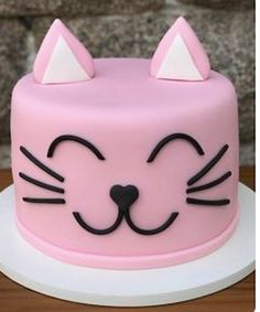 cat birthday cake for cats party ideas - cat birthday cake for cats _ cat birthday cake for cats party ideas _ cat cake for cats birthday parties Kitten Cake, Kitten Party, Cat Party, Cat Themed Parties, Birthday Parties, Birthday Cards, Birthday Cake For Cat, Birthday Kitten, Animal Cakes
