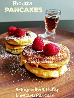 fluffy low-carb ricotta pancakes Source by malthanii Related posts: fluffy low-carbohydrate ricotta pancakes fluffy low-carbohydrate ricotta pancakes Low Carb Blueberry Ricotta Pancakes The Fluffiest Ricotta Soufflé Low Carb Pancakes – Only 4 Ingredients Low Carb Pancakes, Tasty Pancakes, Low Carb Breakfast, Lemon Ricotta Pancakes, Breakfast Pancakes, Köstliche Desserts, Delicious Desserts, Maple Syrup Nutrition, Coconut Flour