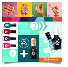 """""""No Light Gel: Nail It in 2 Steps with Sally Hansen® Miracle Gel™ Contest Entry"""" by carlavogel ❤ liked on Polyvore featuring beauty, Sally Hansen, bohochic, polyvorestyle and polyvorecontest"""