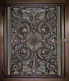 Asian Panel decorative return air vent