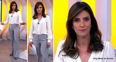 moda do programa Hora 1, look da Monalisa Perrone dia 18 de dezembro