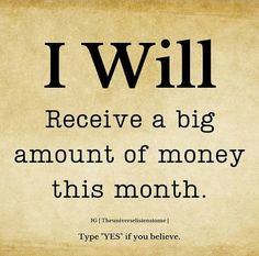 Positive Affirmations Quotes, Money Affirmations, Affirmation Quotes, Positive Quotes, Manifestation Law Of Attraction, Law Of Attraction Affirmations, Law Of Attraction Quotes, Faith Quotes, Life Quotes