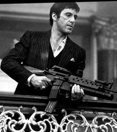 All I have in this world is my balls and my word, and I dont break them for no-one. Tony Montana