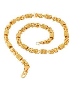 a919ab26c Factorywala Lustrous Link Gold Plated Chain necklace jewe... https://www