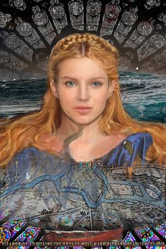 Eleanor of Aquitaine age 25. The Voyage West (Book 3 Cover without title permission Mark Richard Beaulieu) www.eleanorofaquitaine.net