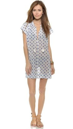 Madewell Lanai Cover Up Tunic