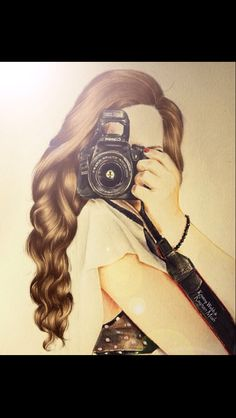 I like this because you don't have to focus on getting the face perfectly right. Kristina Webb art