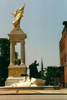 Francis Scott Key Monument -