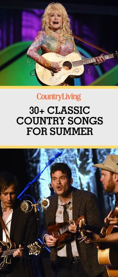 Whether you're planning a road trip, camping weekend, boat excursion, or cookout party, these timeless anthems will provide the perfect background music for all of your summer adventures. Most songs come and go, but these classic country songs are here to stay.