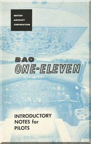 BAe BAC 1-11 Series 400 Aircraft  Introdution Pilot's Notes  Manual