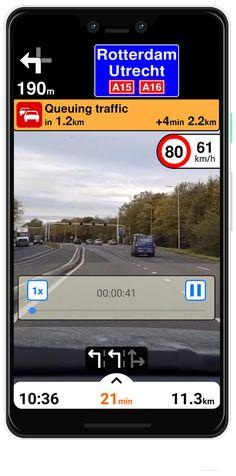 Menetrögzítő kamera. Az utazás alatt, baleset esetén vagy megállás után is tudsz rögzíteni.
