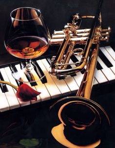 My two best instruments :) a piano and trumpet Jazz Art, Jazz Music, Sound Of Music, Music Is Life, My Music, Music Pics, Music Pictures, Musica Love, Mundo Musical