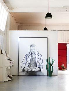 huis vol kunstwerken