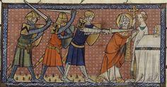 Santi, beati e testimoni Altar, Plantagenet, Historical Art, St Thomas, Medieval Art, 14th Century, Illustrations, Saints, Miniatures