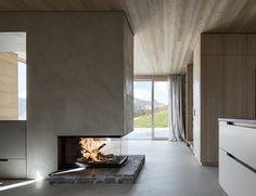 Krananwendter House by LP Architektur (2/3) #teamarchi #pin #architecture #architectureporn #stone #wood