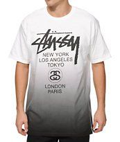 Stussy World Tour Mesh T-Shirt