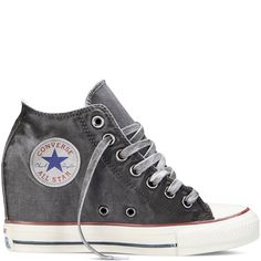 Chuck Taylor All Star Lux Wedge Washed Canvas storm wind