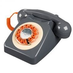 Retro phone ,comes in some fabulous colours x