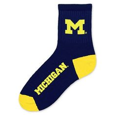 Must have product now available: Michigan Wolverin... Get it here! http://www.757sc.com/products/michigan-wolverines-crew-cut-team-color-socks-size-large-10-13?utm_campaign=social_autopilot&utm_source=pin&utm_medium=pin