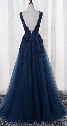 US$116.09-Elegant Tulle Ink Blue Long Prom Dress with Open Back. https://www.junebridals.com/tulle-stuning-new-arrival-p331321.html. Free Shipping! JuneBridals.com selected the best prom dresses, party dresses, cocktail dresses, formal dresses, maxi dresses, evening dresses and dresses for teens such as sweet 16, graduation and homecoming. #prom #dress
