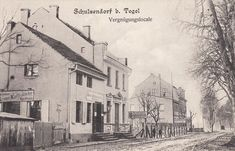 """Schulzendorf b. Tegel """"Vergnügungslocale"""" Restaurant Sommerlust Um 1900/1910"""