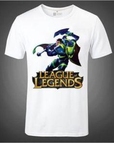 League of Legends hero Jayce t shirt short sleeve for men plus size -