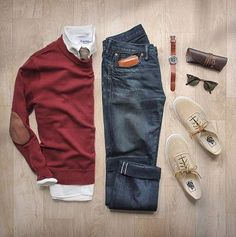 I have a similar outfit to this and I love the combination between the red and…