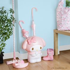 Keep your home sweet and spotless with #MyMelody! Visit Sanrio.com and select #Sanrio stores for supercute accessories to make your home organized and adorable!