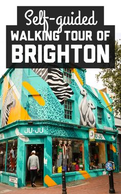 Id always thought of Brighton UK as a popular seaside retreat but this little city has made a name for itself as being a hotspot of alternative culture! Here's how to see Brighton by foot / A Globe Well Travelled New Travel, London Travel, Travel Goals, Travel With Kids, Family Travel, London Eye, Stonehenge, Brighton England, Visit Brighton